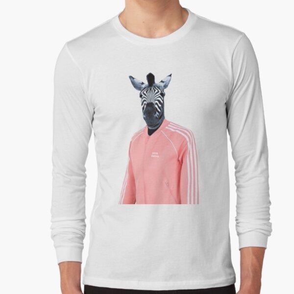 Pink zebra  Long Sleeve T-Shirt