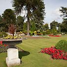 The Garden Brodsworth Hall by Ray Clarke