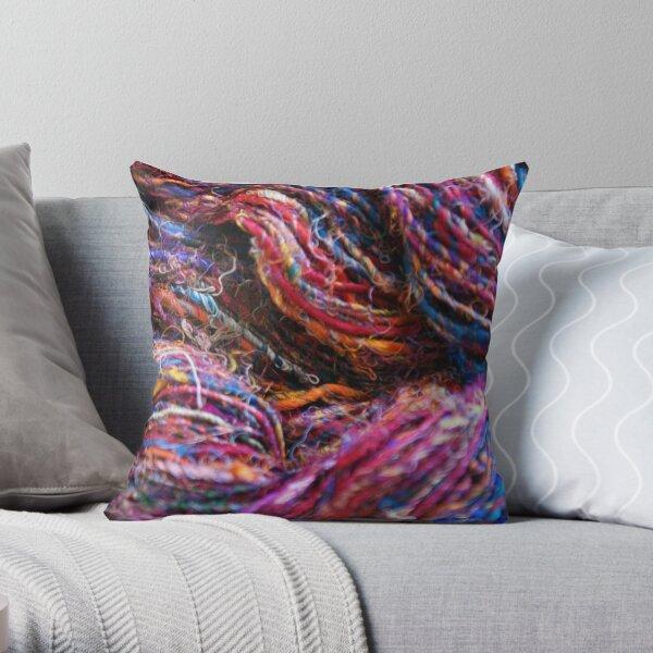 Sari Silk Throw Pillow