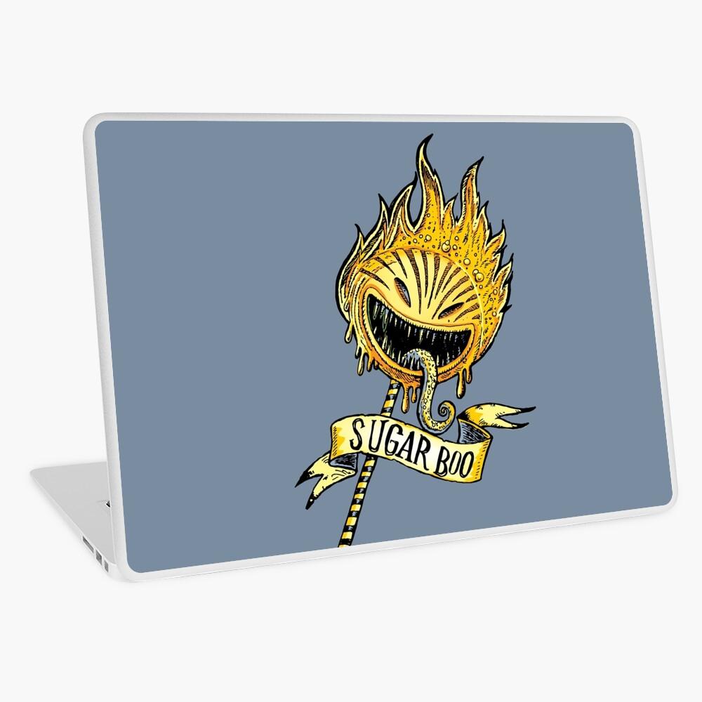 evil lollipop Laptop Skin