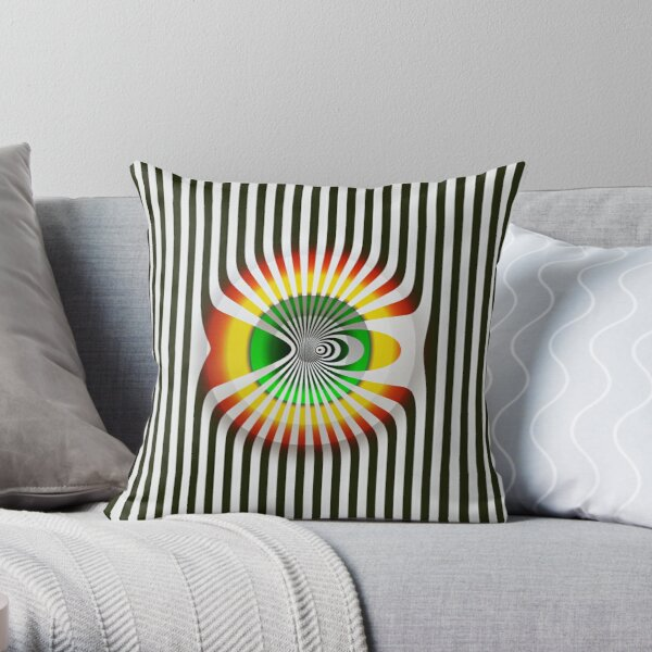 Victor Vasarely Hommage 8 Coussin