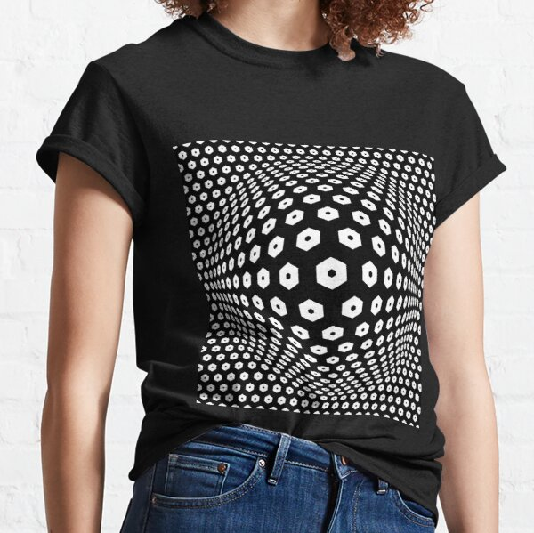 Victor Vasarely Homage 9 Classic T-Shirt