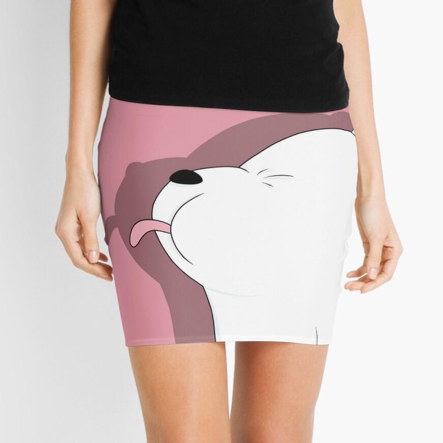 We Bare Bears - Ice Bear Mini Skirt