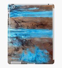 "Large Wall Art , Abstract art, Contemporary art, Original textured painting, Nature Wall Art "" Utopia "" iPad Case/Skin"