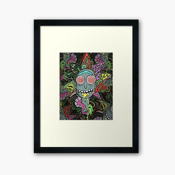Acid Rick Framed Art Print