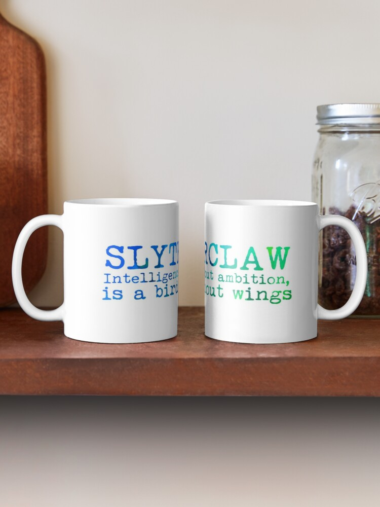 Alternate view of Slytherclaw Quote Mug