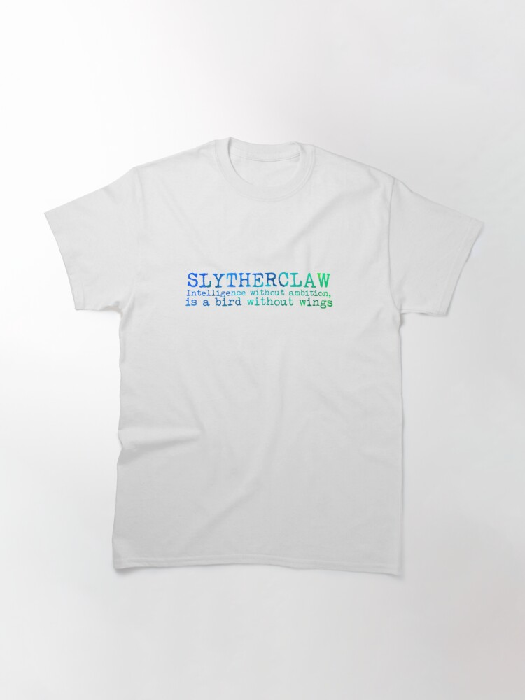 Alternate view of Slytherclaw Quote Classic T-Shirt
