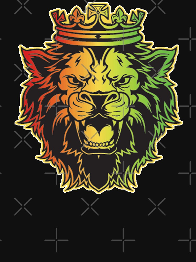 Lion Of Judah Rasta Dreads Roots Reggae Jamaica Culture by thespottydogg