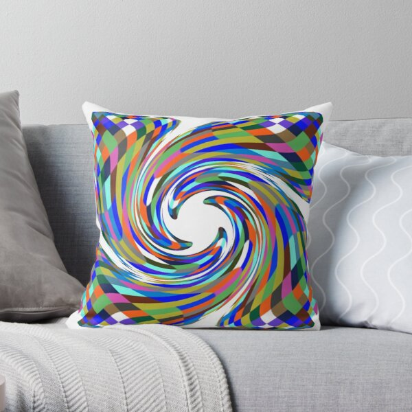Psychedelic art, Art movement Throw Pillow