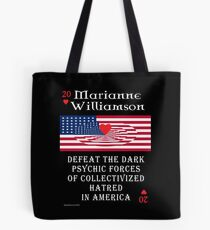 Marianne Williamson Harness Love Card Tote Bag