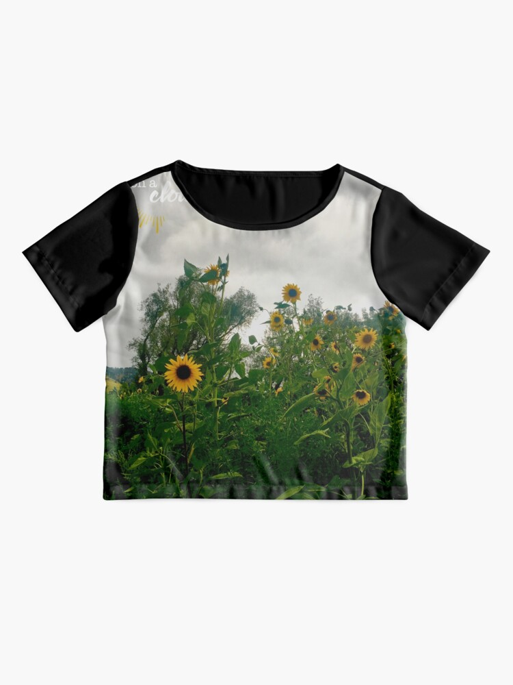 Alternate view of Sunshine On a Cloudy Day Chiffon Top