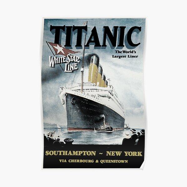 Titanic - Affiche vintage Poster