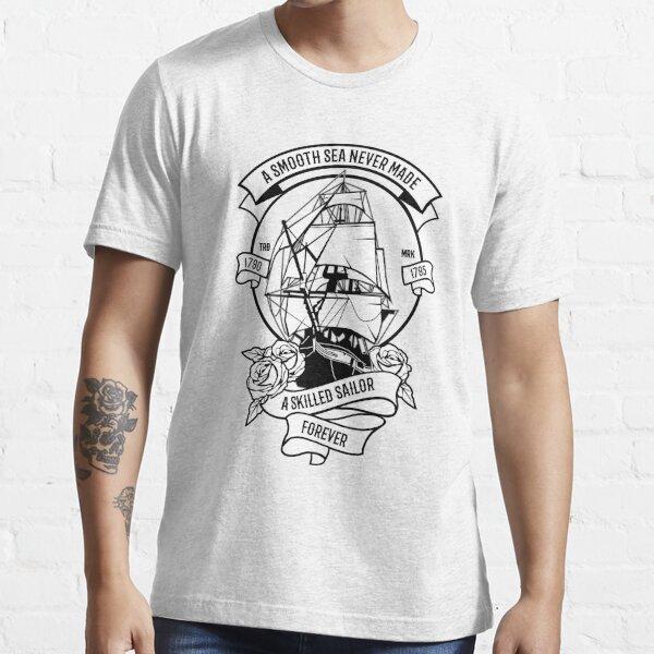 Smooth Sea Sailor Design Essential T-Shirt
