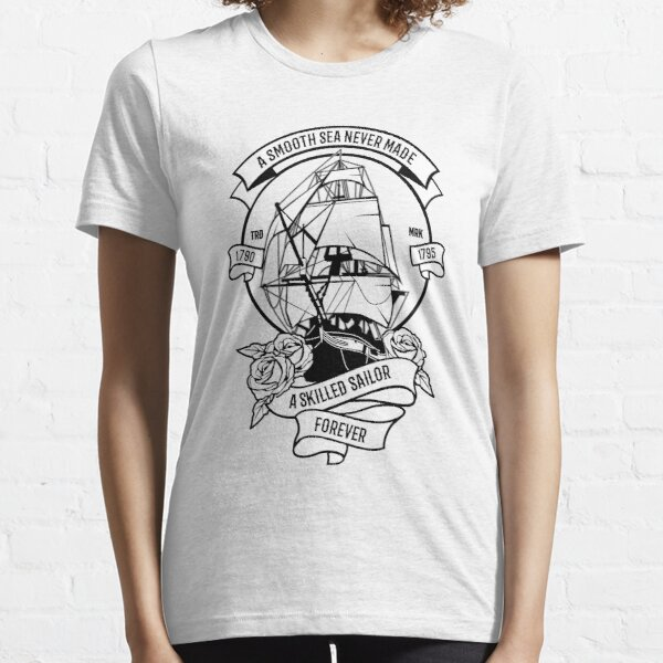 Smooth Sea Sailor Design Essential T-Shirt
