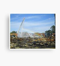 From Dark Places Canvas Print