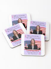 Marianne Williamson Card Coasters