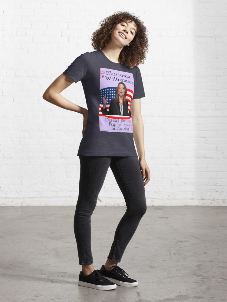 Alternate view of Marianne Williamson Card Essential T-Shirt
