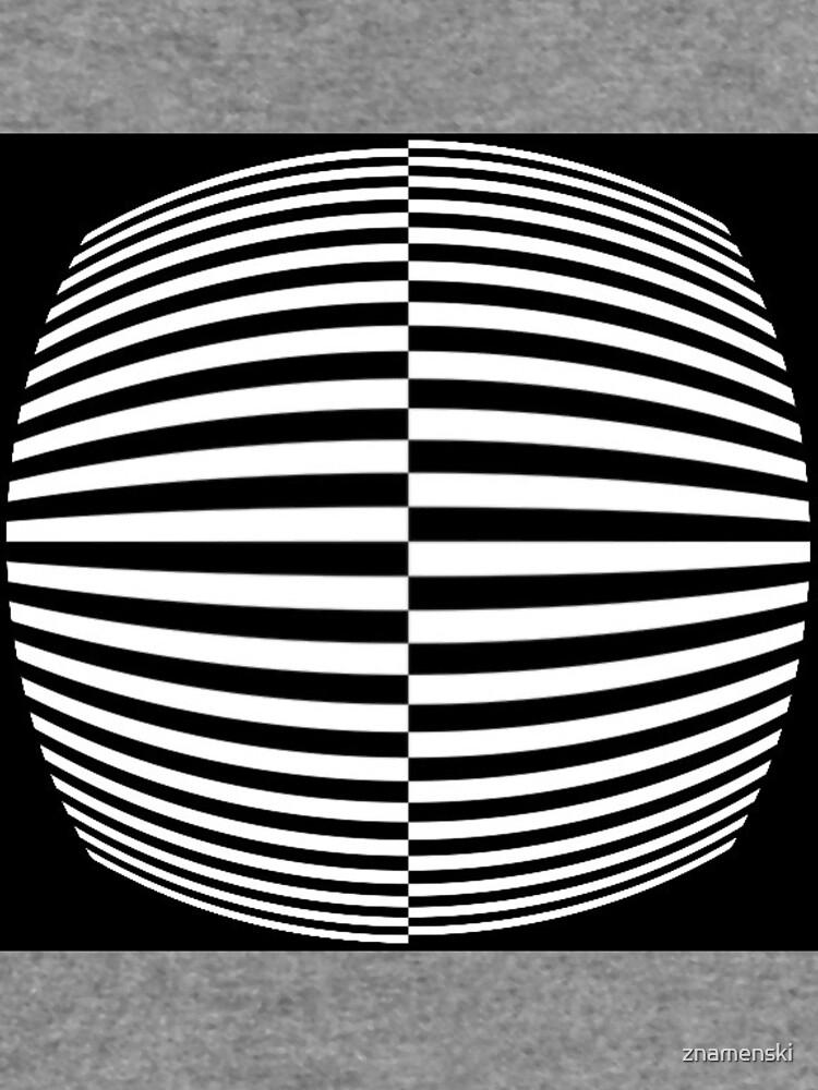 #Pattern, #abstract, #design, #art, geometry, illustration, monochrome, illusion, modern, geometric shape by znamenski