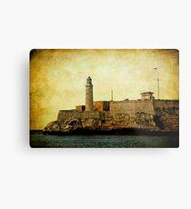 El Morro lighthouse, Havana, Cuba  Metal Print