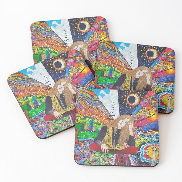 Janis Joplin Coasters (Set of 4)