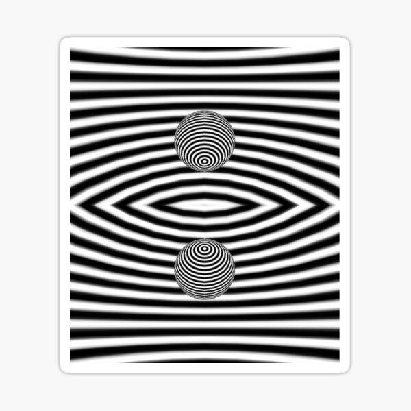 Psychedelic art, Art movement Sticker