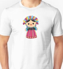 Maria 3 (Mexican Doll) Slim Fit T-Shirt