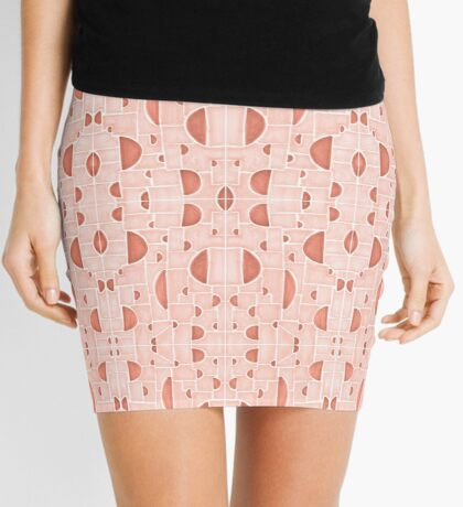Kaleidoscopic Cretto #redbubble #pattern Mini Skirt