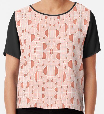 Kaleidoscopic Cretto #redbubble #pattern Chiffon Top