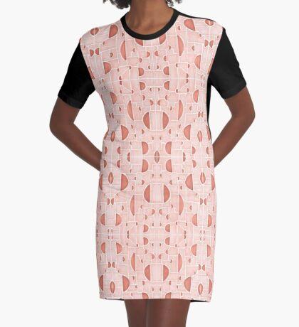 Kaleidoscopic Cretto #redbubble #pattern Graphic T-Shirt Dress