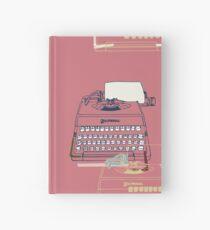 Typewriter Hardcover Journal