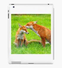 Foxes iPad Case/Skin