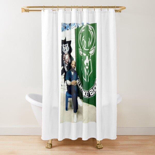 Eddie King  Shower Curtain