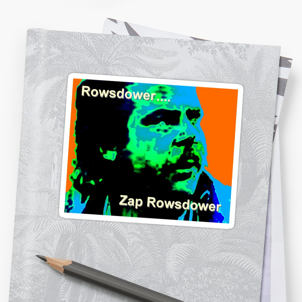 Zap Rowsdower by Margaret Bryant