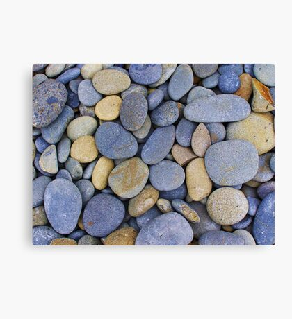 Blue Stones Canvas Print