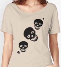 Skull Bats T-Shirt Women's Relaxed Fit T-Shirt