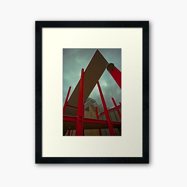 Beams and Girders Framed Art Print