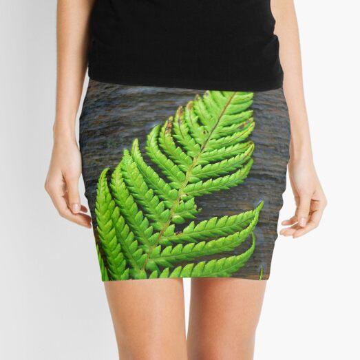 Fern on Wood Mini Skirt