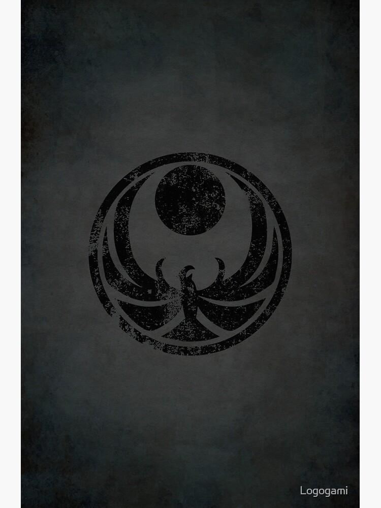 Nightingales Logo · Distressed by Logogami