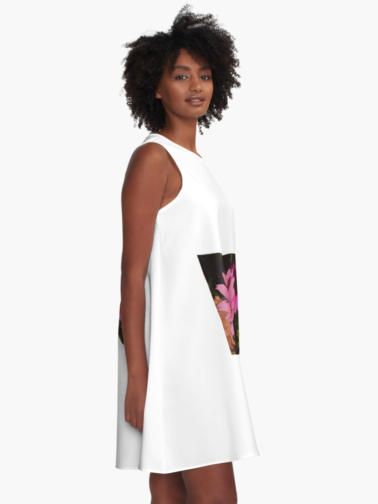 Alternate view of Alive Flower By Yannis Lobaina  A-Line Dress