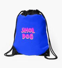 Smol Dog Drawstring Bag