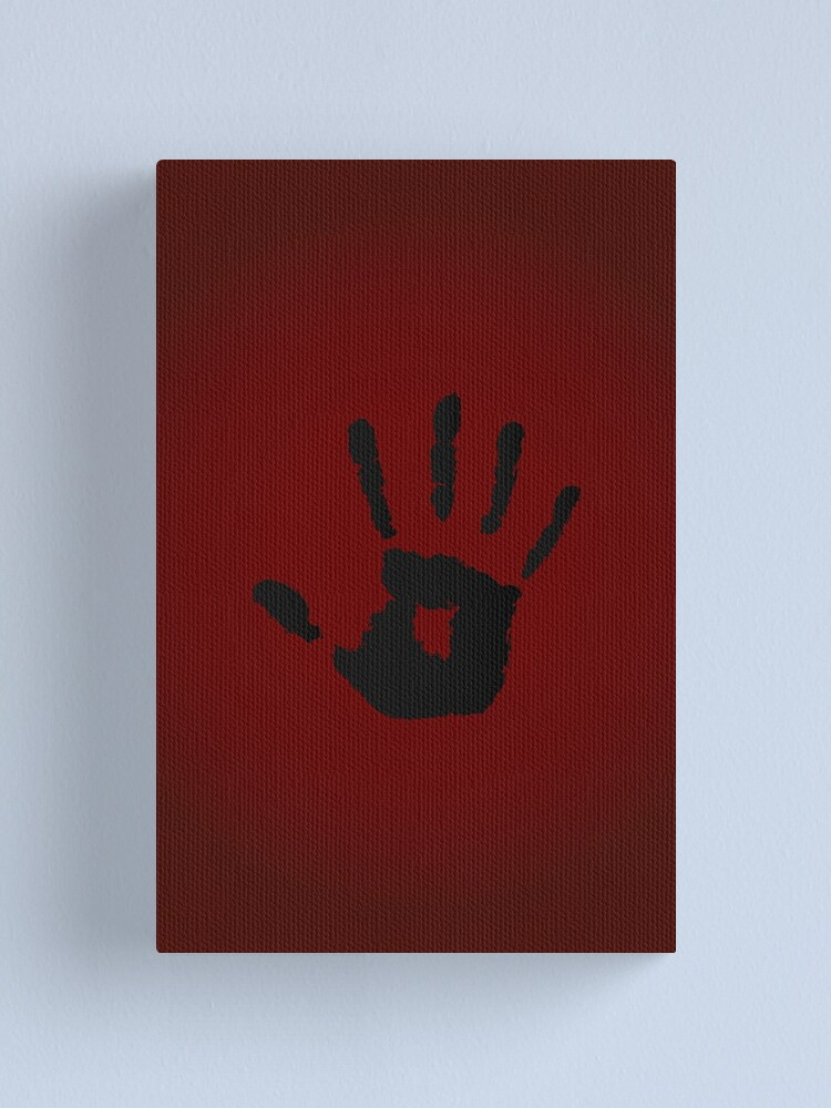 Alternate view of Dark Brotherhood Logo Canvas Print
