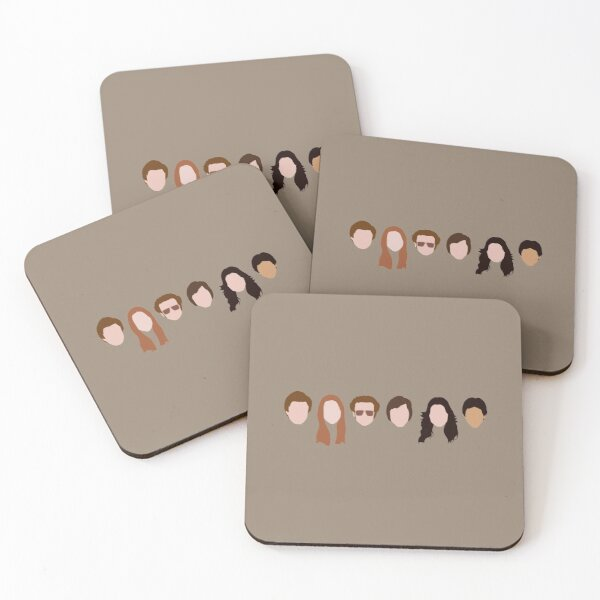 The Gang (That '70s Show) Coasters (Set of 4)