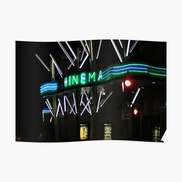 Cinema Night Poster