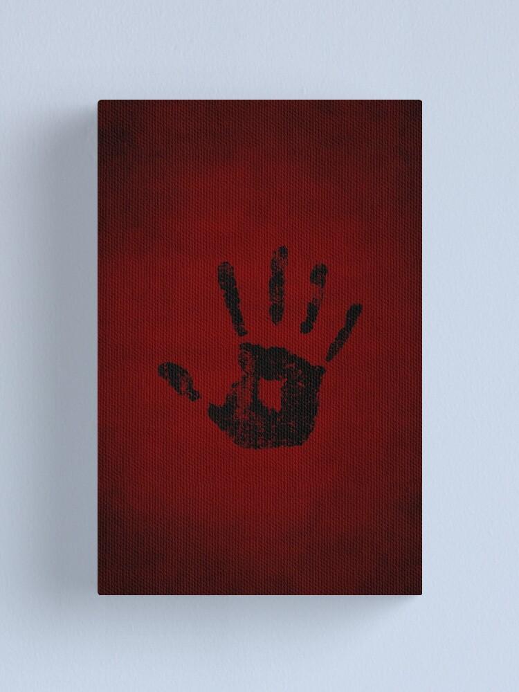 Alternate view of Dark Brotherhood Logo · Distressed Canvas Print