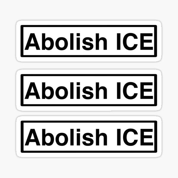 Abolish ICE mini-stickers Sticker