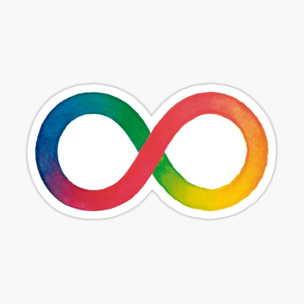 Symbol of Neurodiversity - Deco Sticker