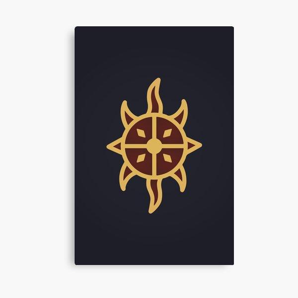 Dawnguard Logo Canvas Print