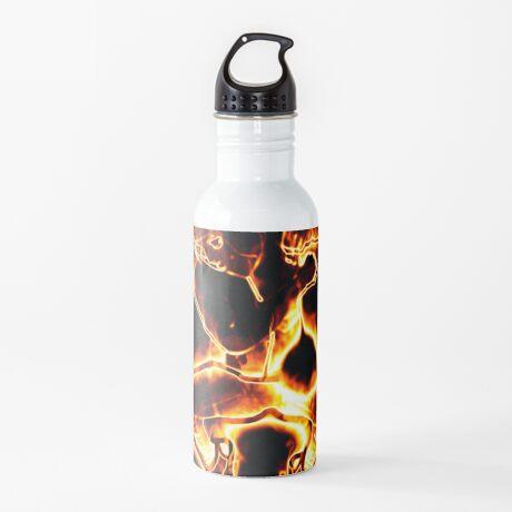 Brennender Mann Trinkflasche