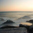 tywyn sunset by Andy Cork