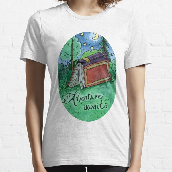 Adventure Awaits  Essential T-Shirt